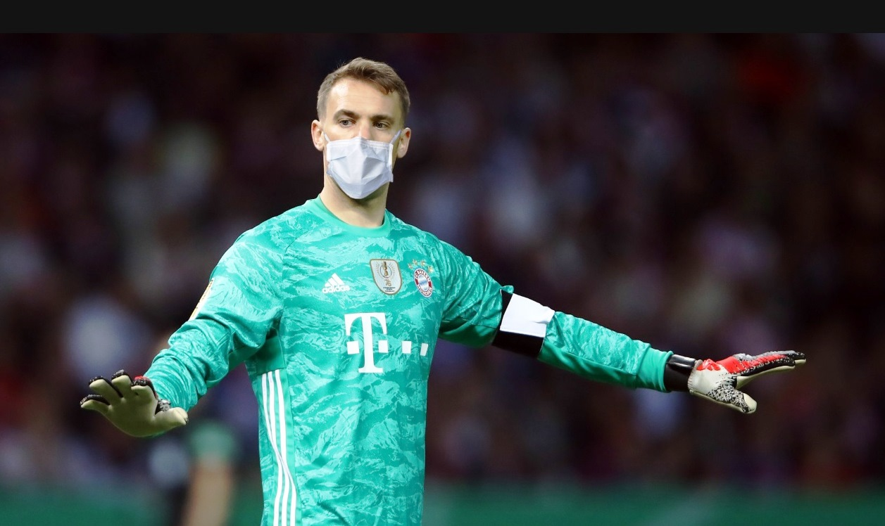 They want to force the Bundesliga players to play masks