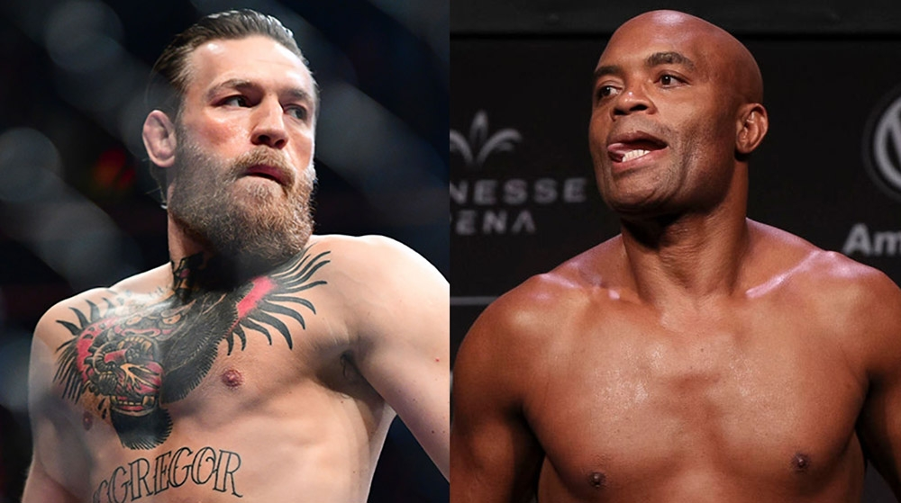 Anderson Silva challenged Conor McGregor to fight
