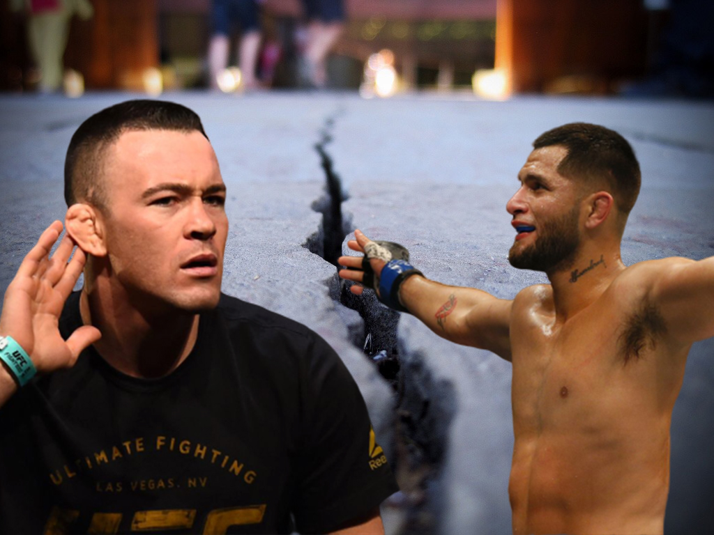 """Colby Covington """"If I see Masvidal on the street, I will stick his head in concrete"""""""