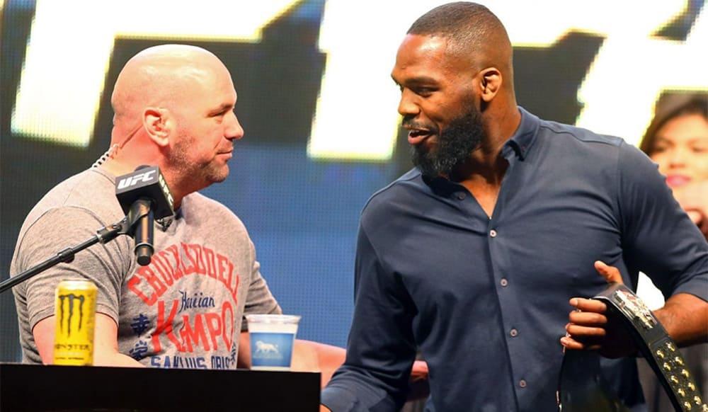John Jones UFC Dana White