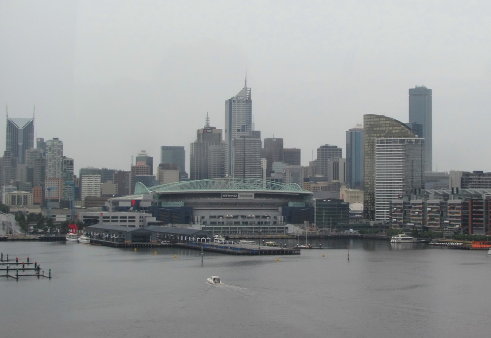 Melbourne went through the rainiest April in 60 years