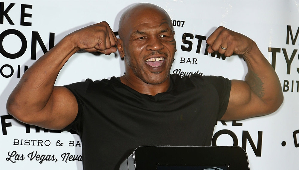 Mike Tyson surprised fans with an actual fitness