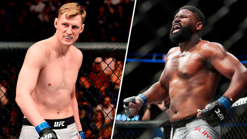 Alexander Volkov revealed a plan to fight with Curtis Blaydes