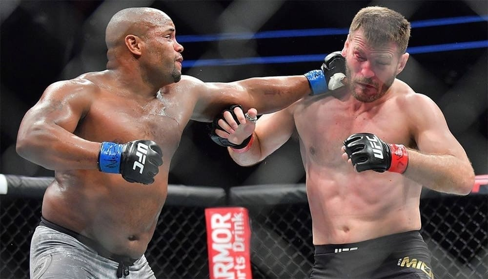Daniel Cormier opened as a favorite in a duel against Stipe Miocic