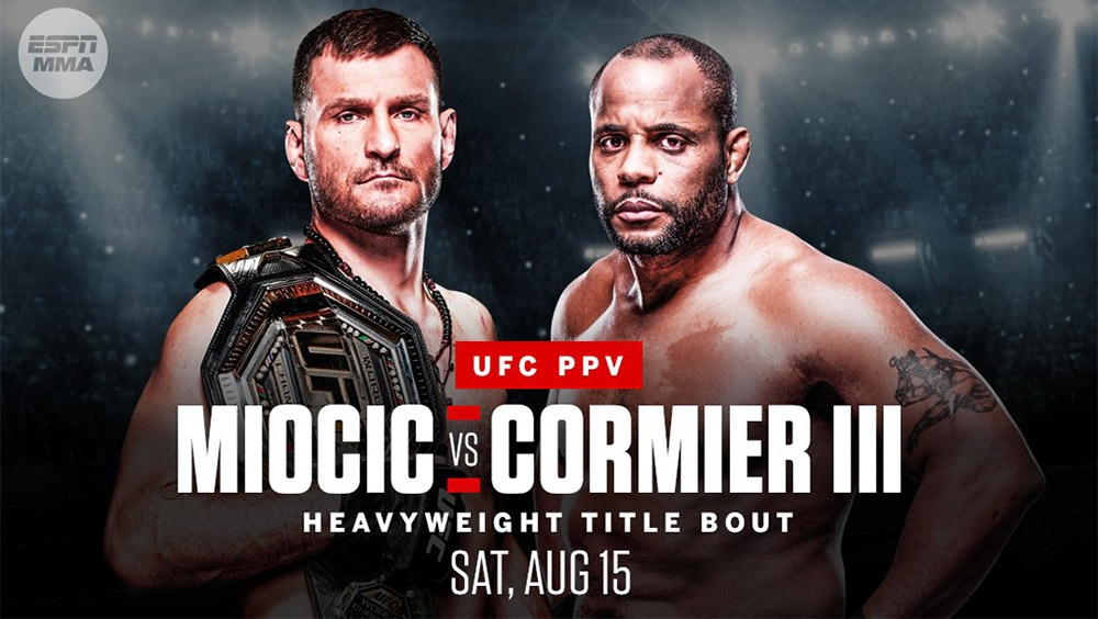 Stipe Miocic and Daniel Cormier will complete the trilogy on August 15 at UFC 252