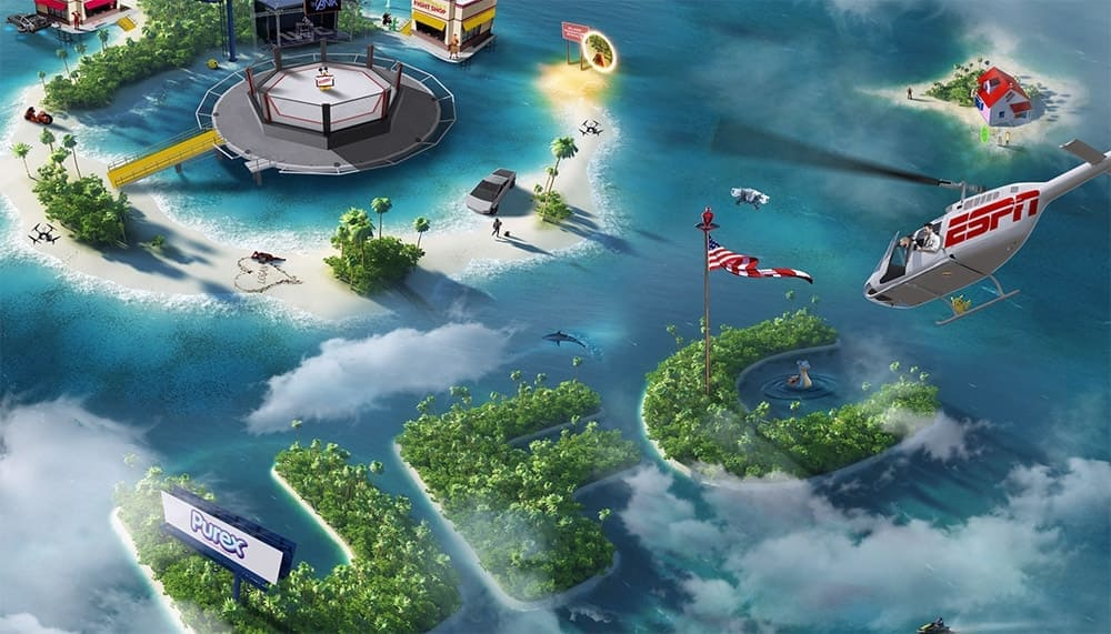 The head of the UFC revealed the location of Fight Island