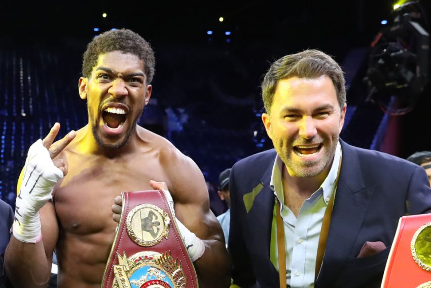 Tyson Fury told an interesting fact about Anthony Joshua