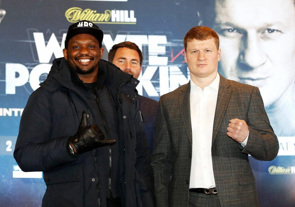 Dillian White I am disturbed by Povetkin, he is a dangerous fighter