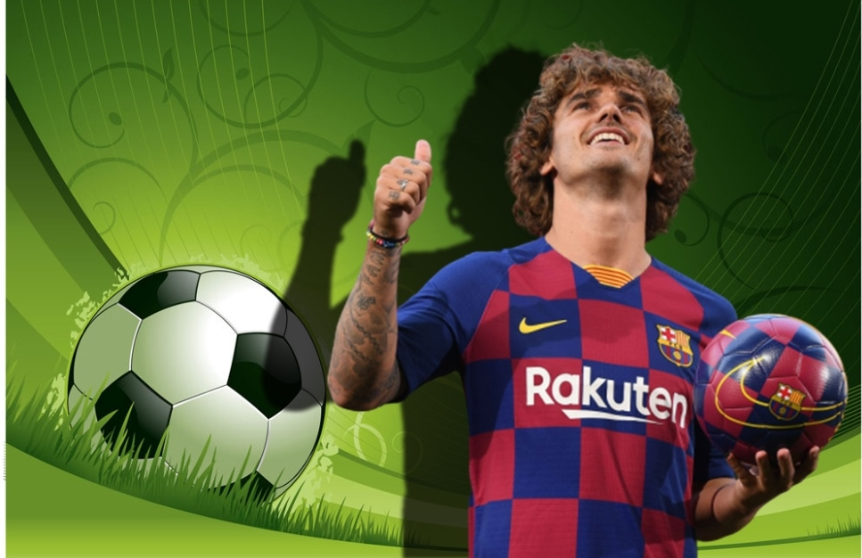 Antoine Griezmann changed his playing number in Barcelona