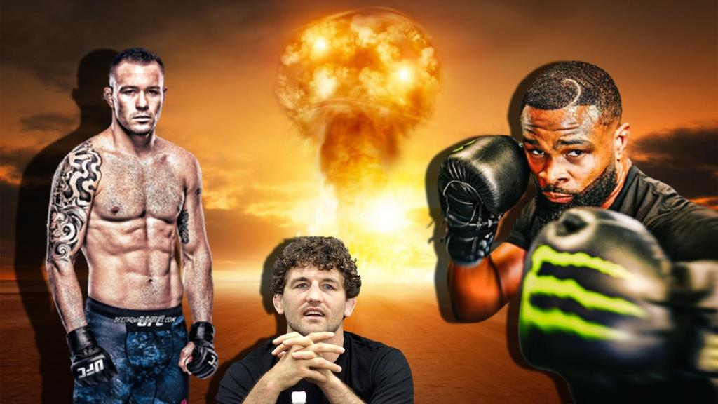 Ben Askren shares his thoughts on the fight Tyron Woodley Colby Covington