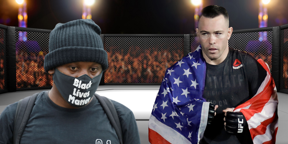 Colby Covington called the Black Lives Matter movement terrorists. Interview here.