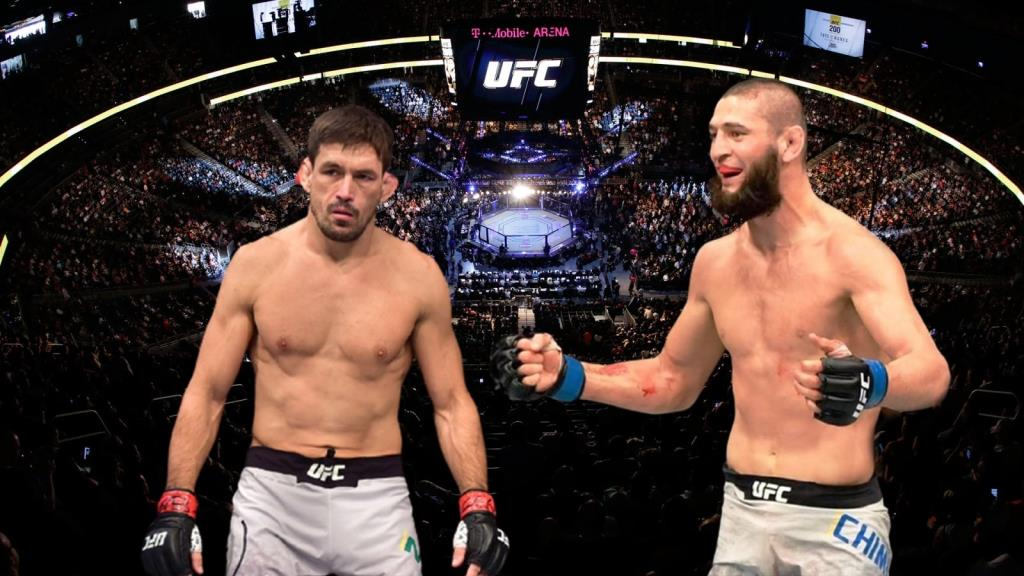 Demian Maia refused to fight with Chimaev in the UFC