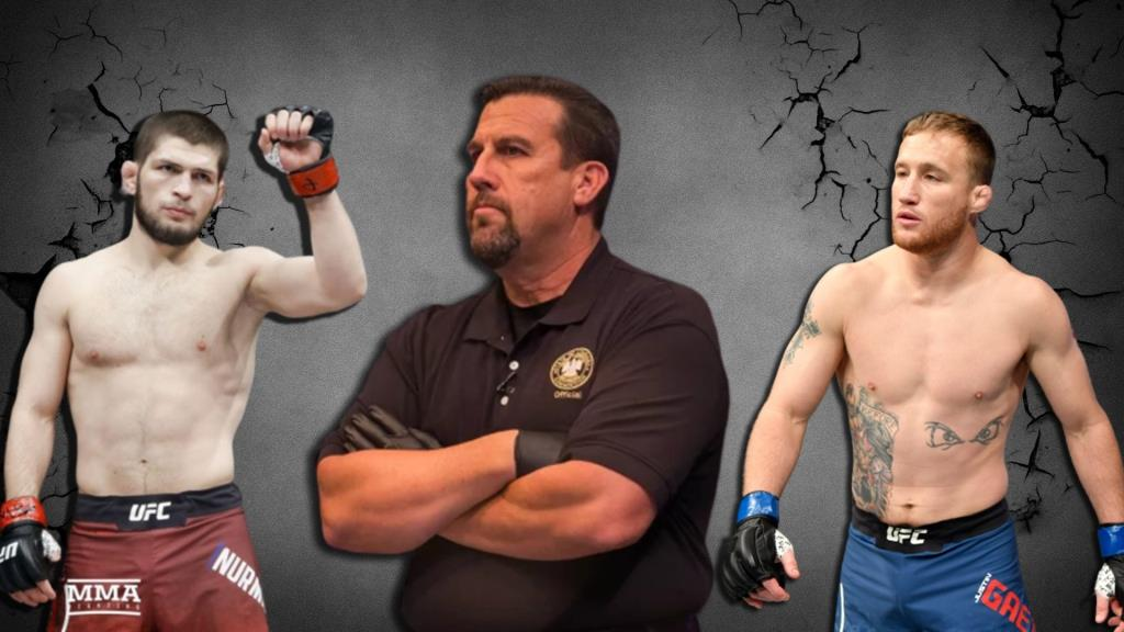 John McCarthy gave a prediction for the fight between Khabib and Justin Gaethje