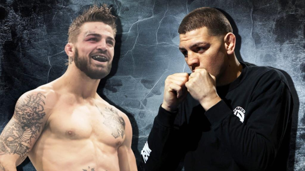 Mike Perry challenged Nick Diaz