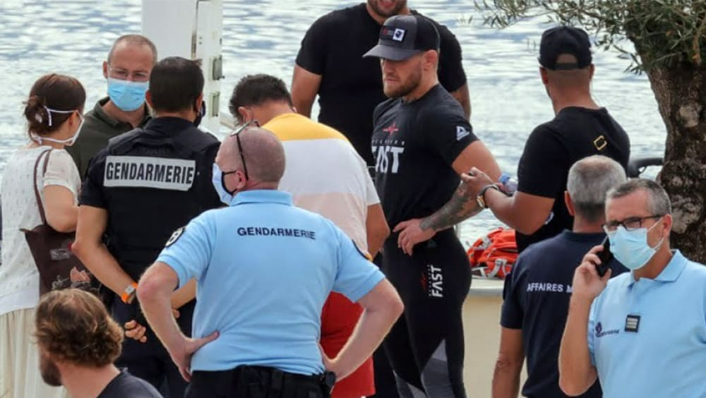 New details and photos of the arrest of Conor McGregor have appeared