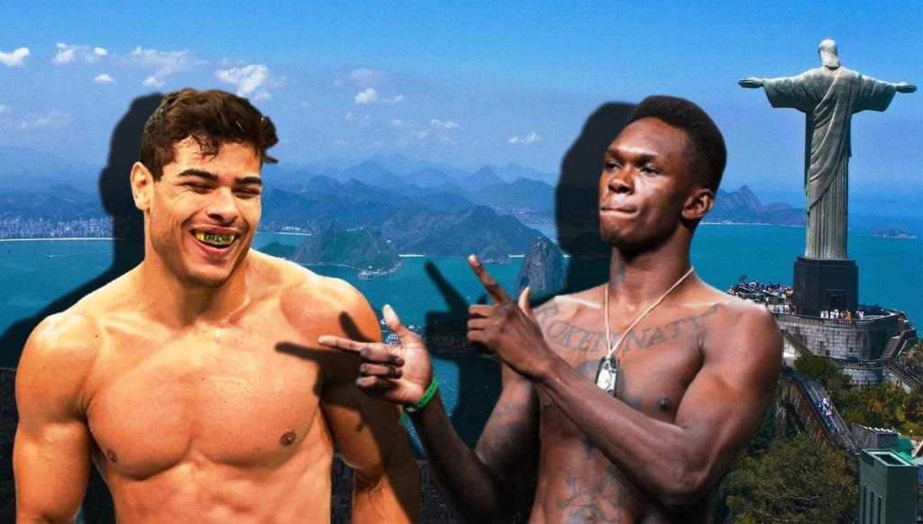 Paulo Costa continues to joke about Israel Adesanya about doping