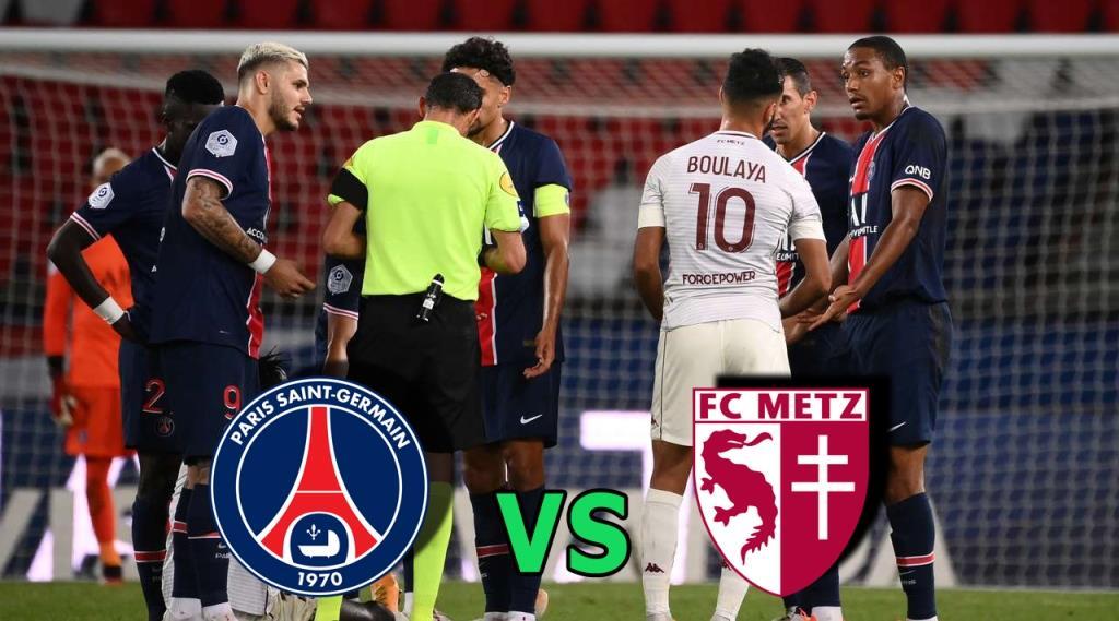 PSG vs Metz (Ligue 1) Highlights