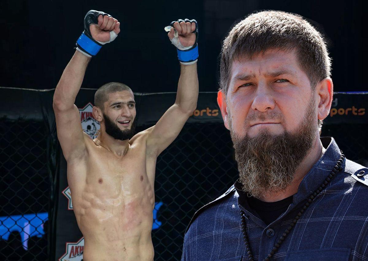 Ramzan Kadyrov expressed pride in Khamzat Chimaev
