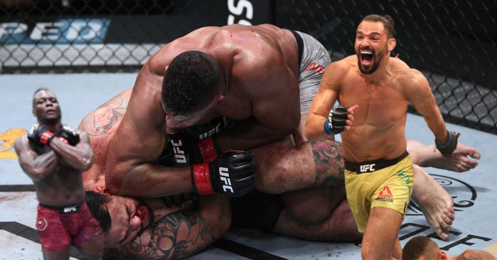 UFC Fight Night 176 Results