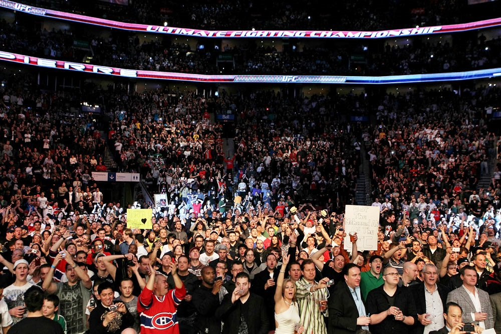 American MMA fans allowed to return to the stands