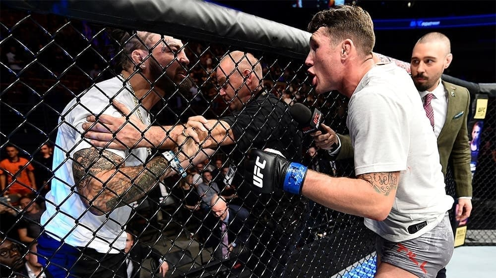Darren Till is ready to buy an offer in the corner of Mike Perry