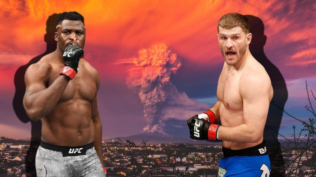 Francis Ngannou named the estimated date of the fight with Stipe Miocic