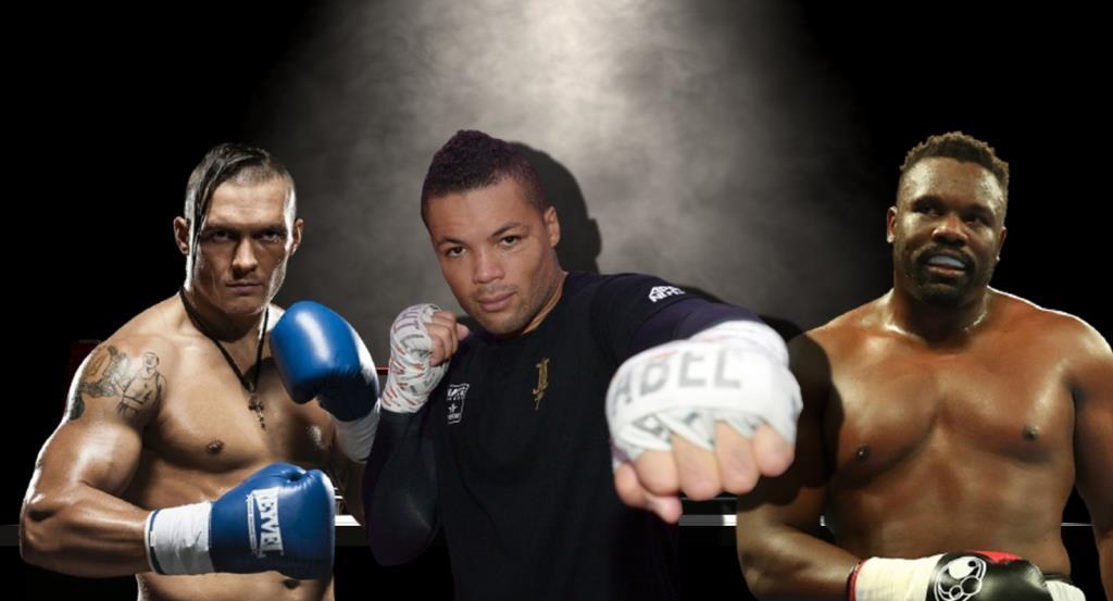 Joe Joyce gave a prediction for the fight Olexander Usyk - Dereck Chisora