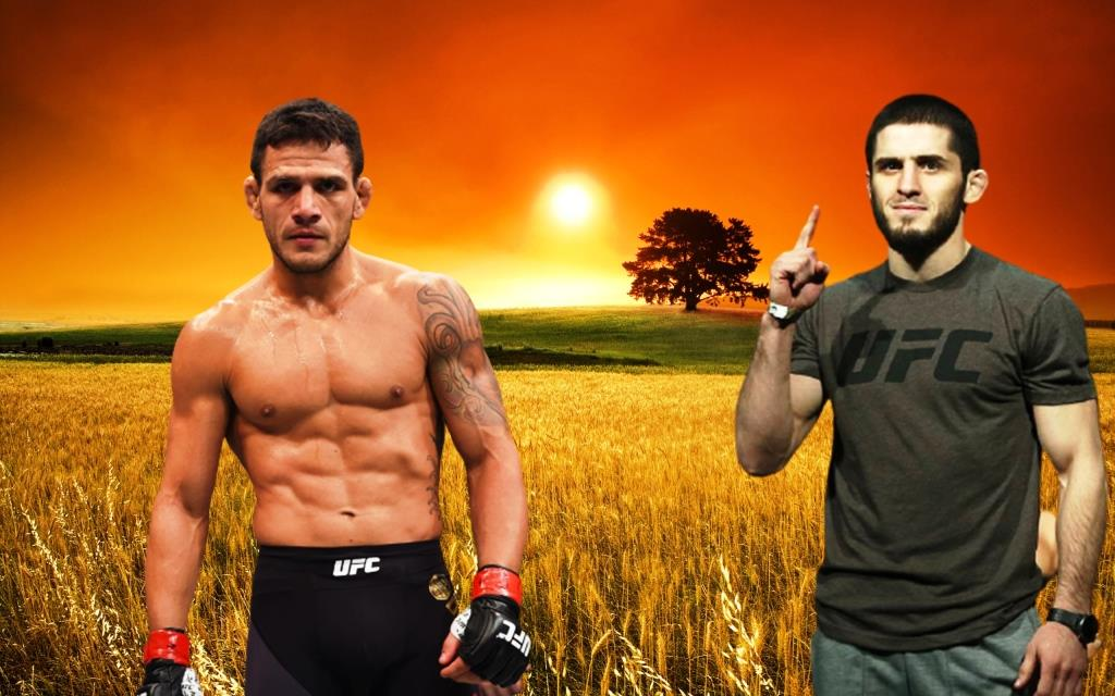 Rafael Dos Anjos dropped out of the fight with Islam Makhachev, the Russian calls Michael Chandler