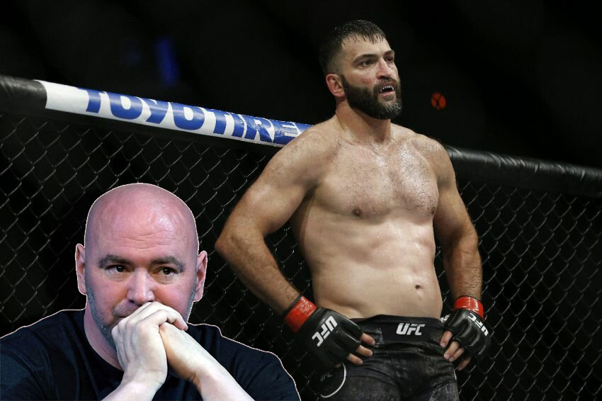 Andrei Arlovski called the head of the UFC the culprit for his defeats.