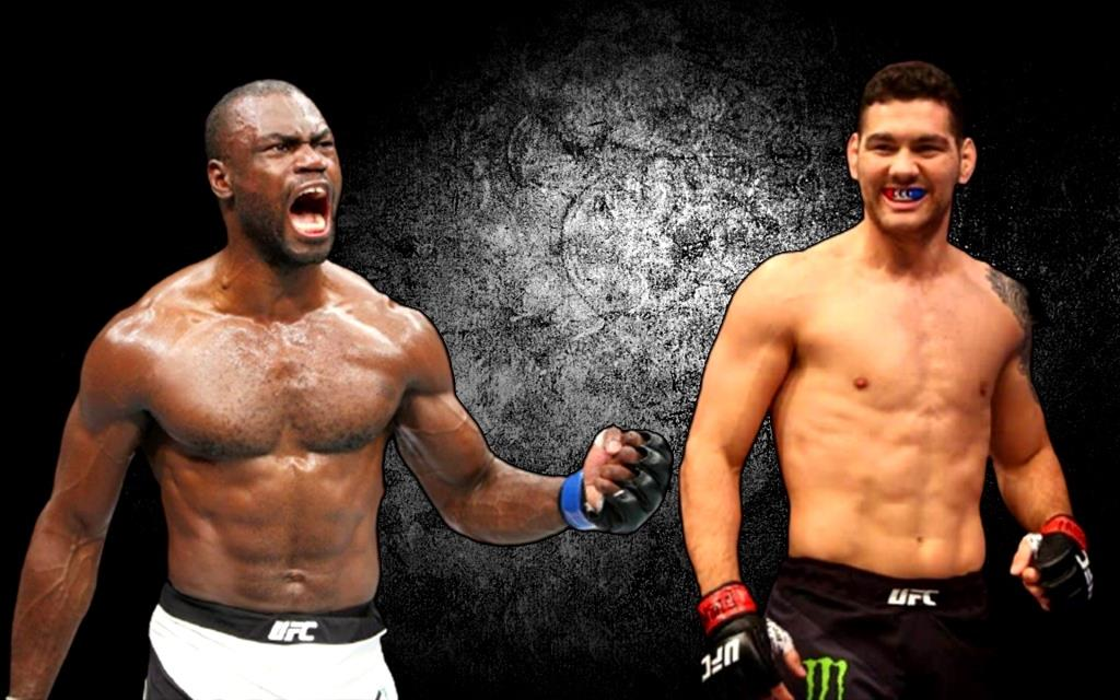 Chris Weidman will fight with Uriah Hall at UFC 258.