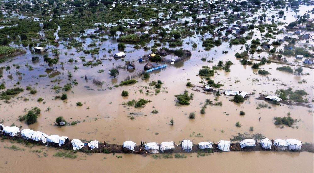 Floods in South Sudan affected over 1 million people