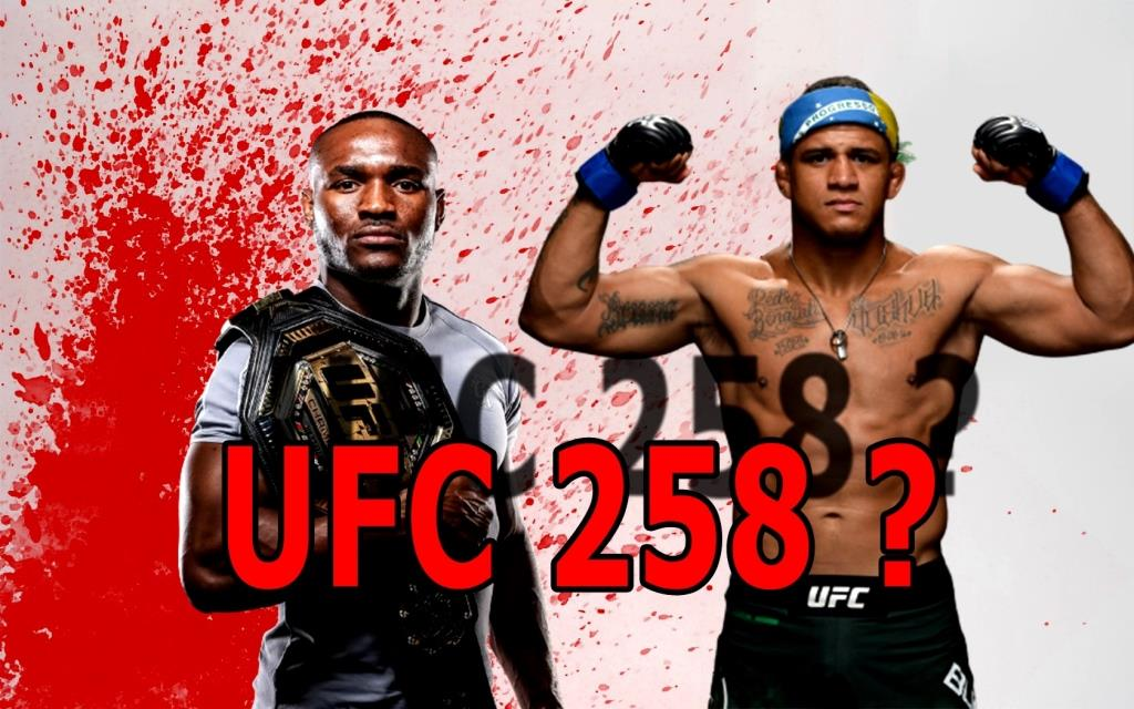 The fight between Kamaru Usman and Gilbert Burns is due in February.