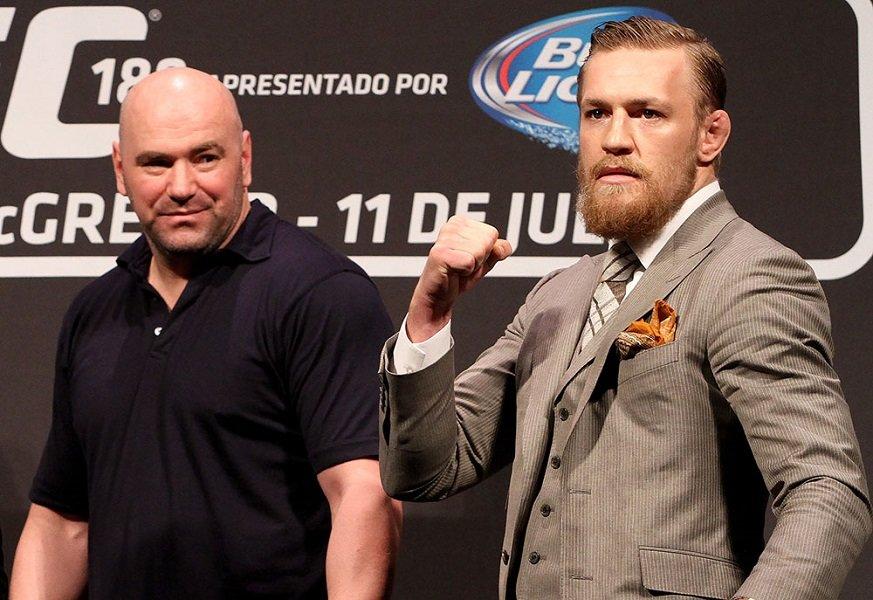 UFC head Conor is always dangerous