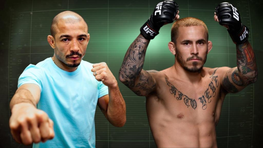UFC The fight between Jose Aldo and Marlon Vera will take place on December 19