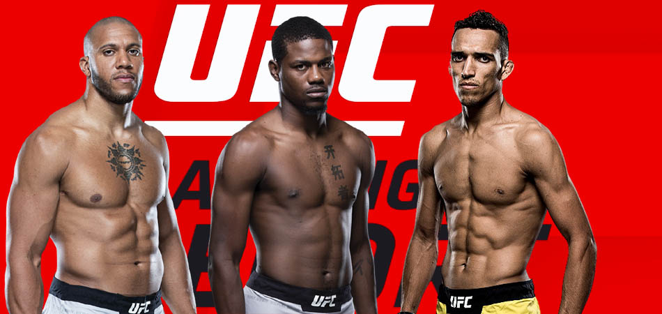 Charles Oliveira, Cyril Gan, and Kevin Holland rank higher in UFC rankings.