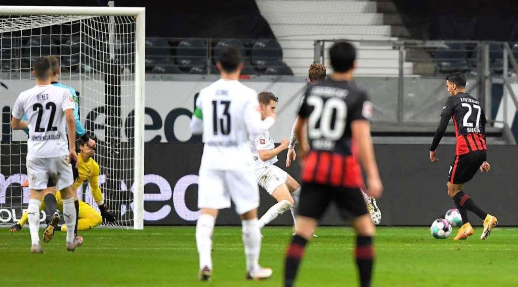 Eintracht Frankfurt vs Borussia Moenchengladbach (Bundesliga) Highlights GERMANY Bundesliga - Round 12