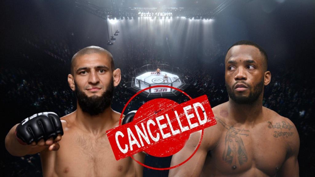 Fight between Khamzat Chimaev and Leon Edwards canceled