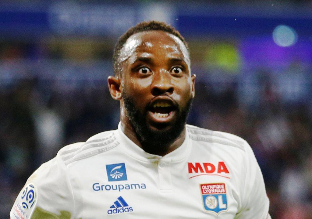 Moussa Dembele broke his arm in training
