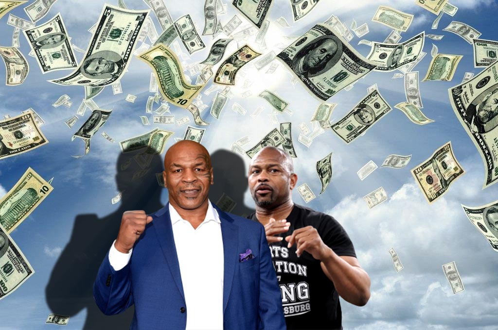 The fight between Mike Tyson and Roy Jones was a huge financial success