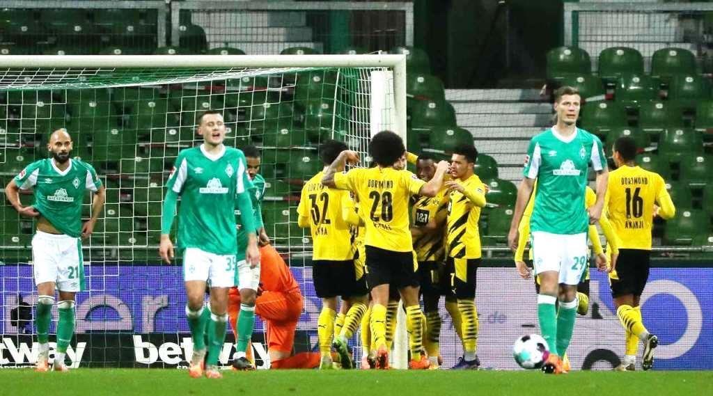 Werder Bremen vs Borussia Dortmund (Bundesliga) Highlights GERMANY Bundesliga - Round 12