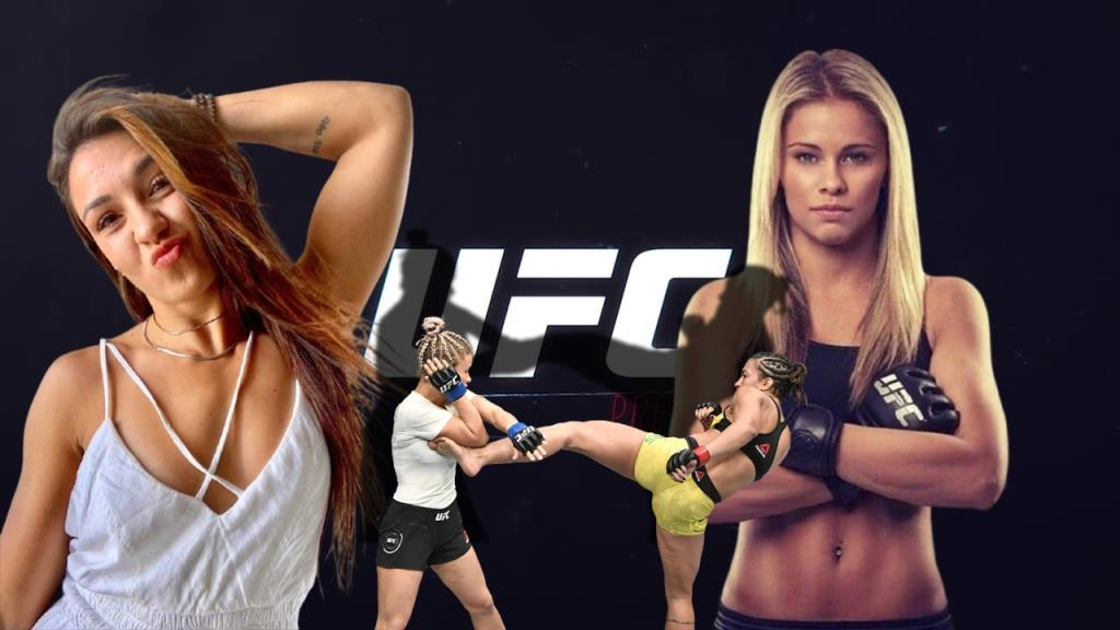 Amanda Ribas on how she and Paige Vanzant are helping each other prepare for the next fights