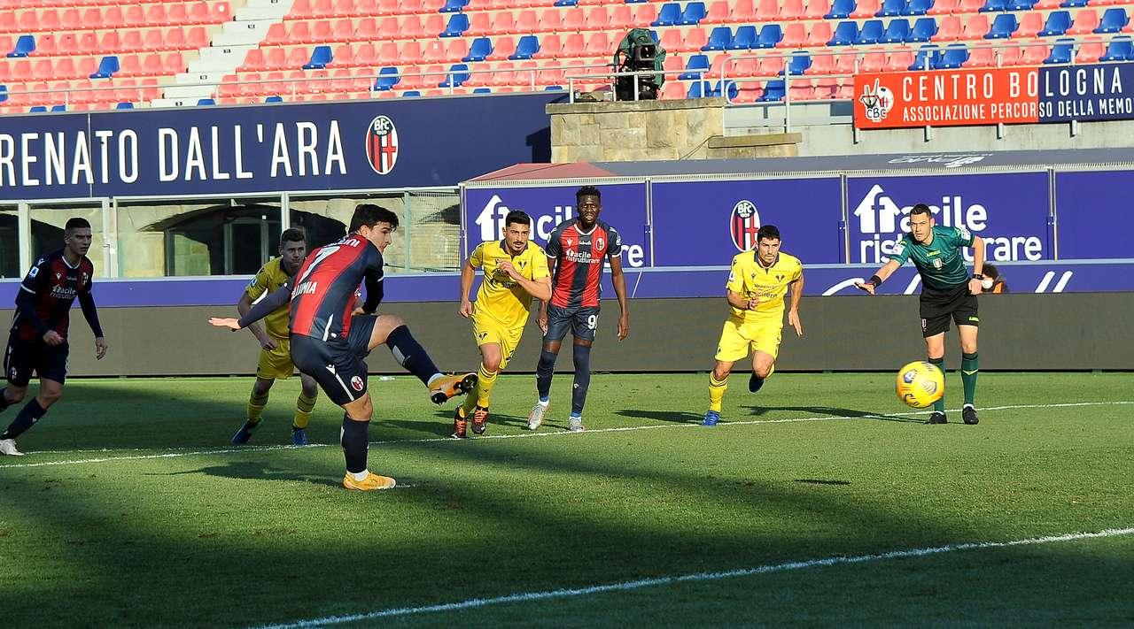 Bologna vs Hellas Verona Highlights 16 January 2021