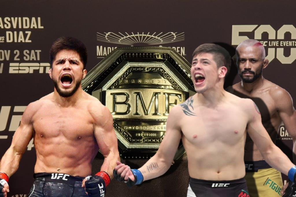 Brandon Moreno is unhappy that Deiveson Figueiredo is talking about fighting Henry Cejudo for the BMF title.