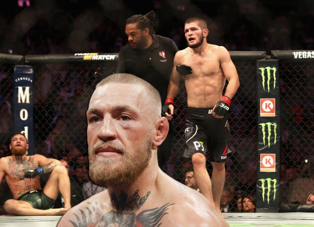 Conor McGregor responded to Khabib's offensive comment after his defeat at Poirier