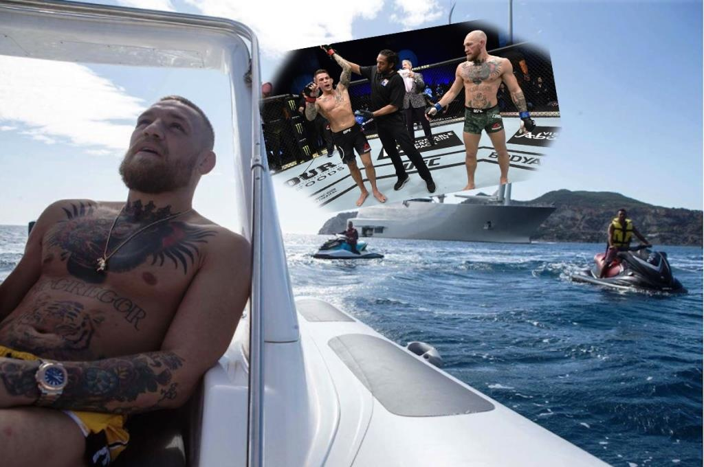 Conor McGregor told what he intends to do after the defeat in the fight with Dustin Poirier