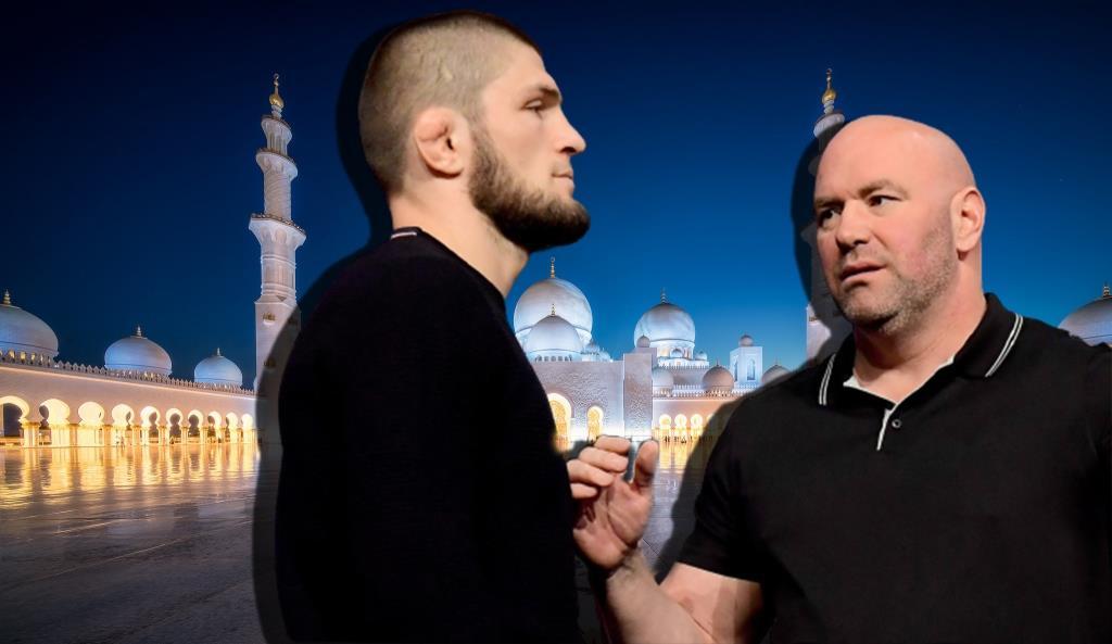 Dana White said that he will speak to Khabib Nurmagomedov when they meet.