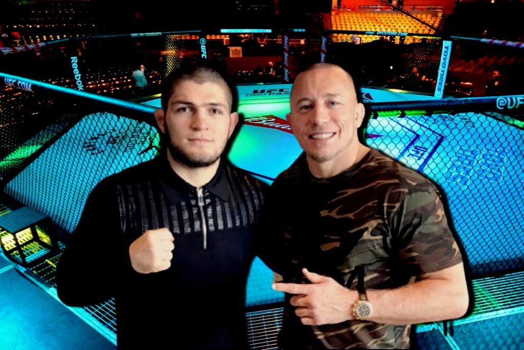 Georges St-Pierre Fight with Khabib freaking excites me