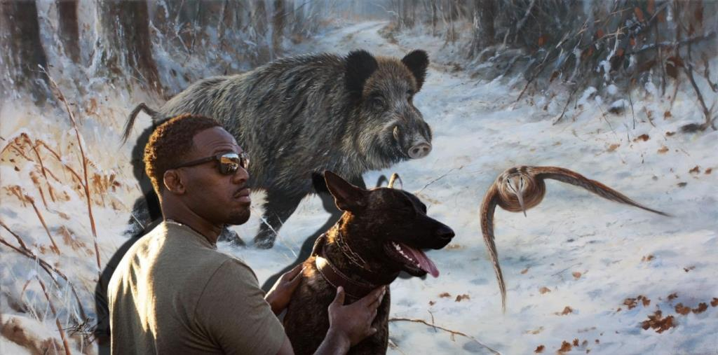 Jon Jones was forced to make excuses for video from a wild boar hunt