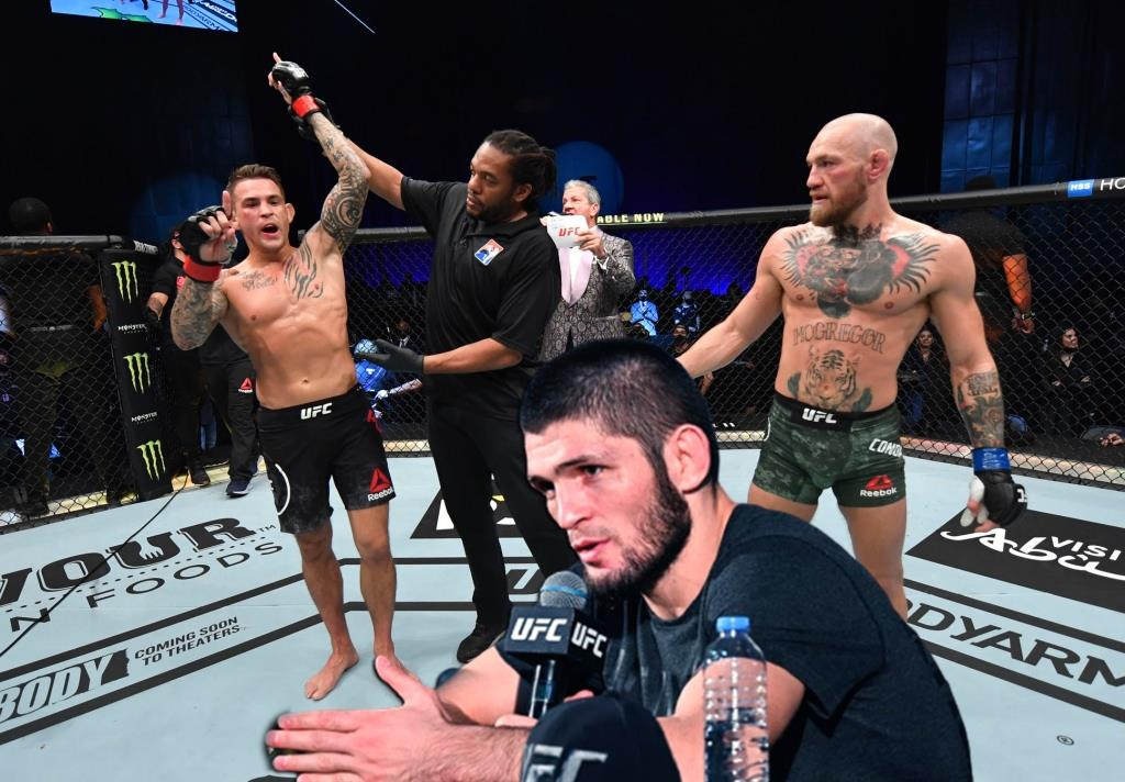 Khabib Nurmagomedov commented on McGregor's defeat at UFC 257