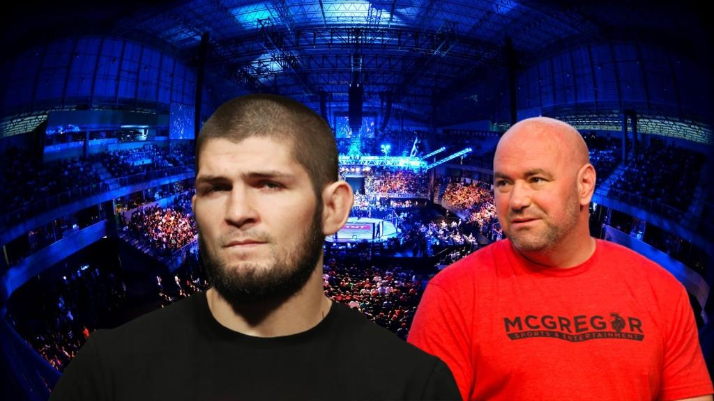 Khabib Nurmagomedov hinted at the outcome of his meeting with UFC President Dana White.